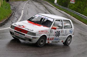 Cesaro Leonardo (VimotorSport, Fiat Uno Turbo IE #108), CAMPIONATO ITALIANO VELOCITÀ MONTAGNA