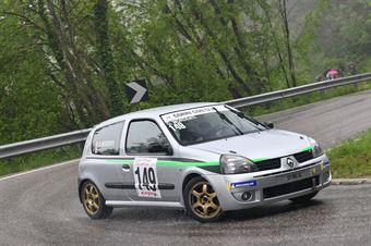 Mordenti Giacomo (Team Piloti Forlivesi, Renault Clio RS #149), CAMPIONATO ITALIANO VELOCITÀ MONTAGNA