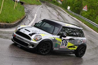 Ghizzoni Serafino (Global Sport Incentive, Mini Cooper JCW #176), CAMPIONATO ITALIANO VELOCITÀ MONTAGNA