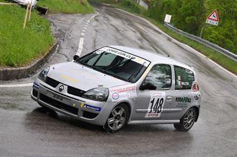 Cervo Walter (VimotorSport, Renault Clio RS #148), CAMPIONATO ITALIANO VELOCITÀ MONTAGNA