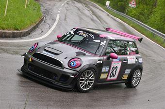 Pascucci Paola (BMW Mini Cooper S #83), CAMPIONATO ITALIANO VELOCITÀ MONTAGNA