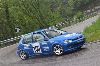 Titi Fabio (Koala Racing, Peugeot 106 #109), CAMPIONATO ITALIANO VELOCITÀ MONTAGNA