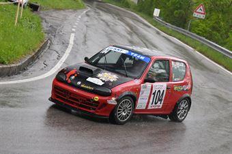 Maggian Diego (Funny Team, Fiat 600 #104), CAMPIONATO ITALIANO VELOCITÀ MONTAGNA