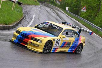 Mordenti Gabriele (Team Piloti Forlivesi, BMW M3 #81), CAMPIONATO ITALIANO VELOCITÀ MONTAGNA