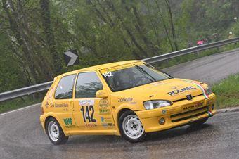 Vettorel Fabrizio (BL Racing, Peugeot 106 Rally #142), CAMPIONATO ITALIANO VELOCITÀ MONTAGNA