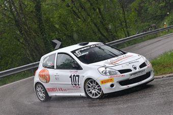 Dal Col Nicola (VimotorSport, Renault Clio #107), CAMPIONATO ITALIANO VELOCITÀ MONTAGNA