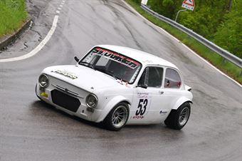 Stocker Werner (Alby Racing Team, Fiat 850 Special Kawasaki #53), CAMPIONATO ITALIANO VELOCITÀ MONTAGNA