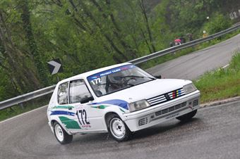 Grillo Simone (VimotorSport, Peugeot 205 Rally #172), CAMPIONATO ITALIANO VELOCITÀ MONTAGNA