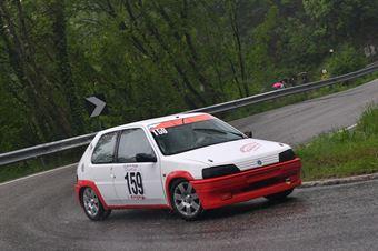 Bommartini Matteo (BL Racing, Peugeot 106 #159), CAMPIONATO ITALIANO VELOCITÀ MONTAGNA