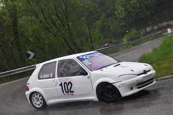 Crispi Alfio (Catania Corse, Peugeot 106 #102), CAMPIONATO ITALIANO VELOCITÀ MONTAGNA