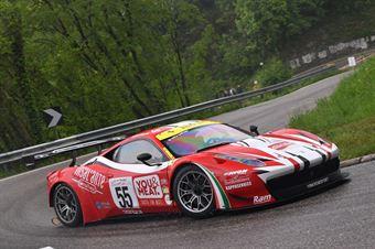 Luca Gaetani ( Vimotorsport, FERRARI 458 GT3 #55), CAMPIONATO ITALIANO VELOCITÀ MONTAGNA