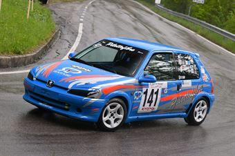 Favaro Elia (VimotorSport, Peugeot 106 #141), CAMPIONATO ITALIANO VELOCITÀ MONTAGNA