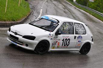 Vedovello Riccardo (BL Racing, Peugeot 106 #103), CAMPIONATO ITALIANO VELOCITÀ MONTAGNA