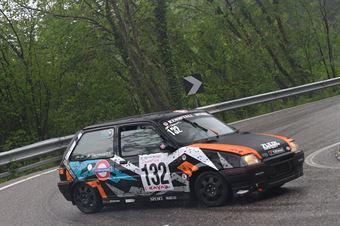 Giacomuzzi Sergio (Mendola, Rover Metro GTI #132), CAMPIONATO ITALIANO VELOCITÀ MONTAGNA