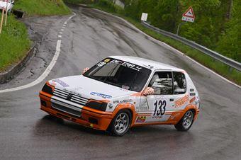 Giovannini Angelo (Destra 4, Peugeot 205 Rally #133), CAMPIONATO ITALIANO VELOCITÀ MONTAGNA