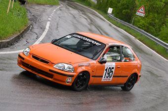 Tomasi Paolo (VimotorSport, Honda Civic EK4 #195), CAMPIONATO ITALIANO VELOCITÀ MONTAGNA