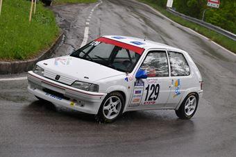 Genoria Paolo (BL Racing, Peugeot 106 Rally #129), CAMPIONATO ITALIANO VELOCITÀ MONTAGNA