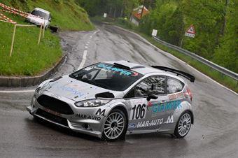 Sandro Casanova (Ford Fiesta R% #106), CAMPIONATO ITALIANO VELOCITÀ MONTAGNA