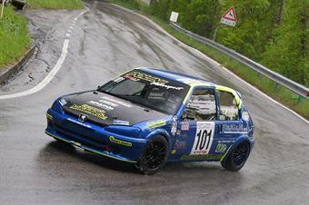 Oddo Antonino (Racing for Genova, Peugeot 106 #101, CAMPIONATO ITALIANO VELOCITÀ MONTAGNA
