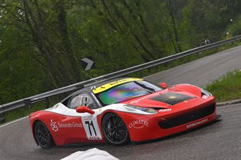 Artuso Stefano (Superchallenge, Ferrari 458 EVO #71), CAMPIONATO ITALIANO VELOCITÀ MONTAGNA