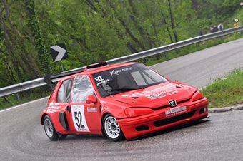 Scopel Andrea (Xmotors, Peugeot 106 #52), CAMPIONATO ITALIANO VELOCITÀ MONTAGNA