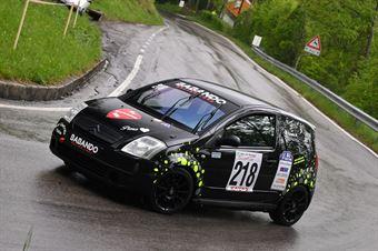 Zanella Mauro (BL Racing, Citroen C2 VTS #218), CAMPIONATO ITALIANO VELOCITÀ MONTAGNA