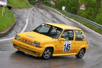 Igor De March (Vimotorpsort, Renaul 5 GTT #145), CAMPIONATO ITALIANO VELOCITÀ MONTAGNA