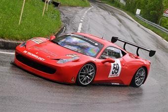 Gibiino Vincenzo (Ferrari 458 Challenge #59), CAMPIONATO ITALIANO VELOCITÀ MONTAGNA