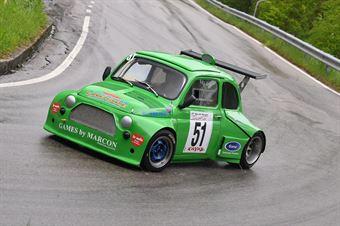 Marcon Stiw (BL Racing, Fiat 500 R2 #51), CAMPIONATO ITALIANO VELOCITÀ MONTAGNA
