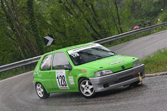 Cossalter Roberto (Antares Motorsort, Peugeot 106 Rally #128), CAMPIONATO ITALIANO VELOCITÀ MONTAGNA