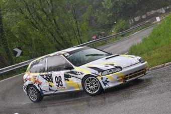 Zio Fester (Superchallenge, Honda Civic EG6 #98), CAMPIONATO ITALIANO VELOCITÀ MONTAGNA