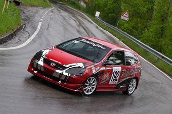 Pilotto Adriano (VimotorSport, Honda Civic Type R #192), CAMPIONATO ITALIANO VELOCITÀ MONTAGNA