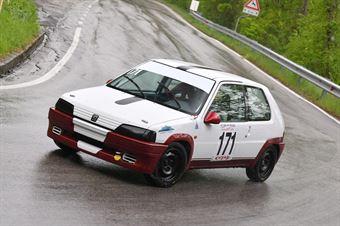 Zanandrea Marco (Centro Revisioni, Peugeot 106 #171), CAMPIONATO ITALIANO VELOCITÀ MONTAGNA
