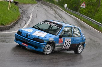 Sieberlechner Martin (Destra 4, Peugeot 106 #127), CAMPIONATO ITALIANO VELOCITÀ MONTAGNA