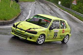 Vettorel Alessandro (BL Racing, Peugeot 106 #99), CAMPIONATO ITALIANO VELOCITÀ MONTAGNA