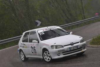 Cappello Francesco (Xmotors, Peugeot 106 #216), CAMPIONATO ITALIANO VELOCITÀ MONTAGNA