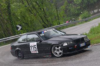 Kevin Lechner (Venosta, BMW M3 #115), CAMPIONATO ITALIANO VELOCITÀ MONTAGNA