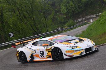 Rosario Parrino (Antonelli Motorsport , Lamborghini Huracan #58), CAMPIONATO ITALIANO VELOCITÀ MONTAGNA