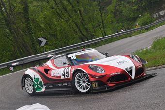 Marco Gramenzi (AB Motorsport, MG AR 4C #49), CAMPIONATO ITALIANO VELOCITÀ MONTAGNA