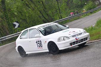 De Bastiani Remo (VimotorSport, Honda Civic #158), CAMPIONATO ITALIANO VELOCITÀ MONTAGNA