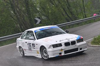 Dennjs Adami (Pintarally Motorsport, BMW M3 #135), CAMPIONATO ITALIANO VELOCITÀ MONTAGNA