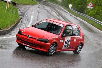 Maso Stefano (Red White, Peugeot 106 #156), CAMPIONATO ITALIANO VELOCITÀ MONTAGNA