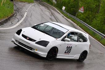 Leardini Alex (Historika Motorsport , Honda Civic Type R #208), CAMPIONATO ITALIANO VELOCITÀ MONTAGNA