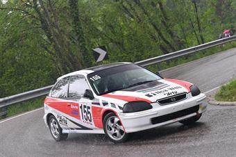 Agosti Alberto (Honda Civic EK4 #155), CAMPIONATO ITALIANO VELOCITÀ MONTAGNA