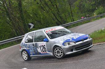 Pongan Andrea (Angi Motorsport, Peugeot 106 #126), CAMPIONATO ITALIANO VELOCITÀ MONTAGNA