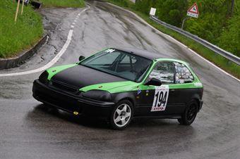 Bommartini Vittorio (BL Racing, Honda Civic #194), CAMPIONATO ITALIANO VELOCITÀ MONTAGNA