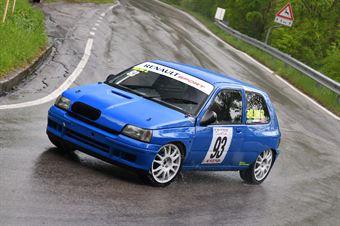 Baldin Davide (Renault Clio, Williams #93), CAMPIONATO ITALIANO VELOCITÀ MONTAGNA