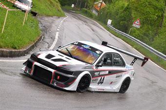 Mauro Soretti (Leonessa Corse, Subaru Impreza #44), CAMPIONATO ITALIANO VELOCITÀ MONTAGNA