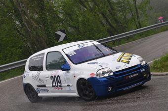Bolfelli Fulvio (Renault Clio RS #209), CAMPIONATO ITALIANO VELOCITÀ MONTAGNA