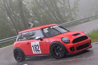 Vito Tagliente (SCS Motorsport, Mini Cooper JCW #182), CAMPIONATO ITALIANO VELOCITÀ MONTAGNA